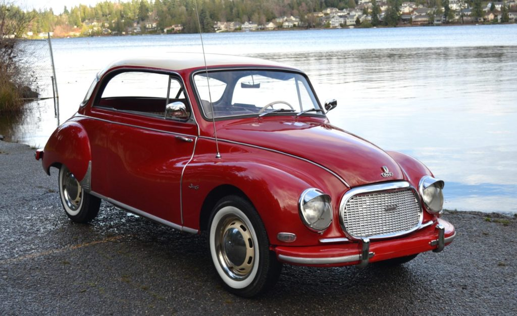 1958 DKW 3=6 Sonderklasse F93 Pillarless Coupe