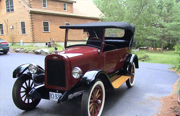 1925 Chevrolet Superior Touring Car