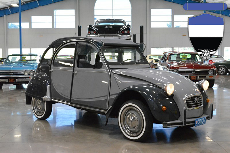 1981 Citroen 2CV Roll-Top